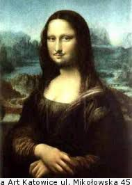 Duchamp - Mona Lisa