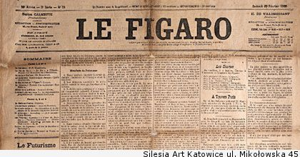 le figaro 20 february 1909 header