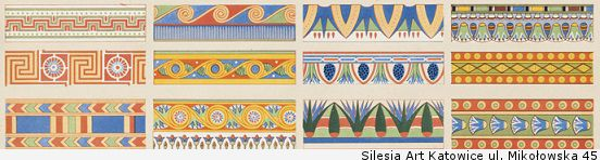 examples of historical ornament egyptian by boston public library